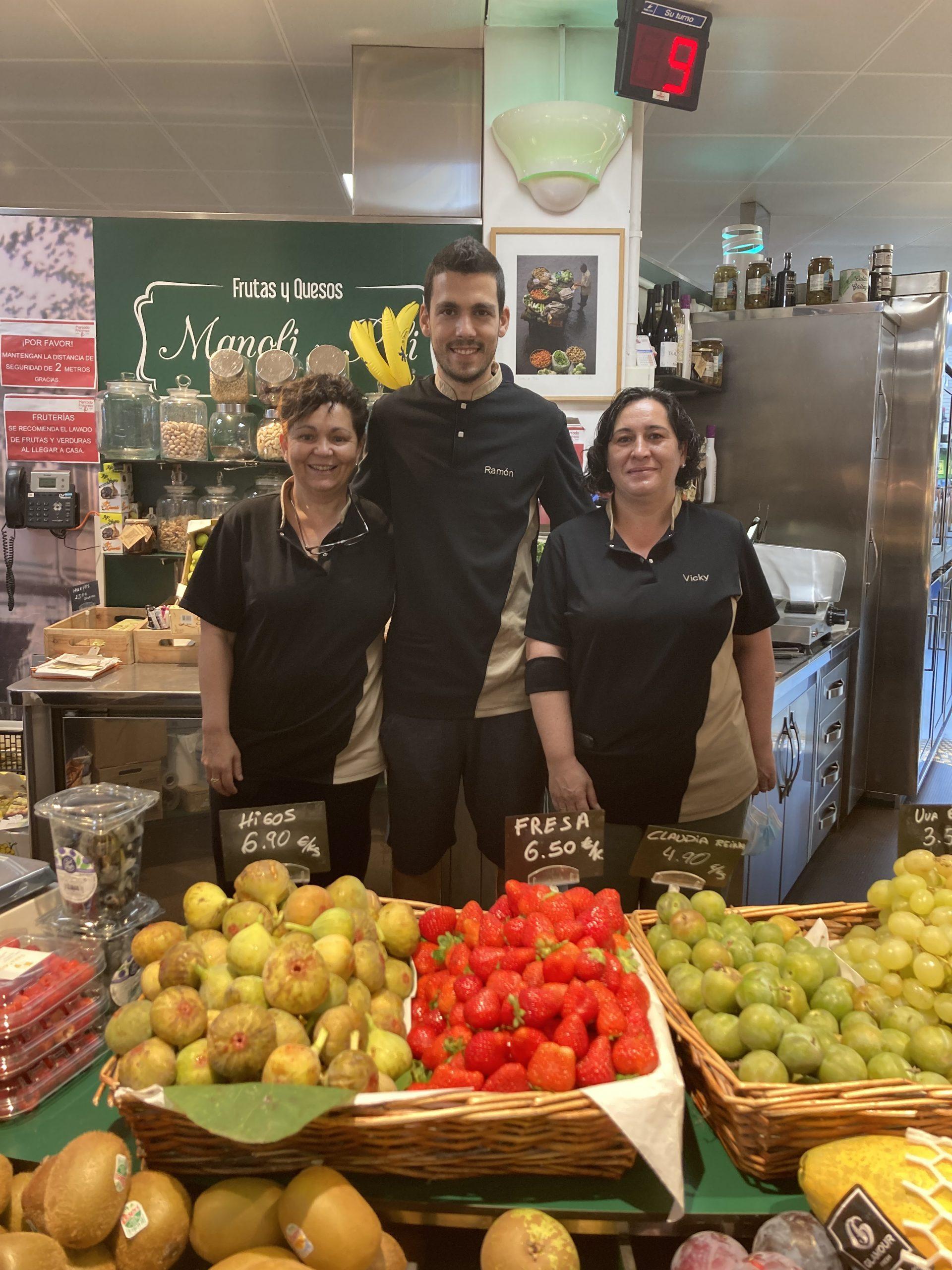 Frutas y Quesos Manoli y Pili - Mercado Progreso Vigo
