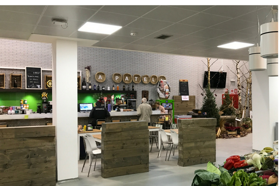Cafetería  A Patela